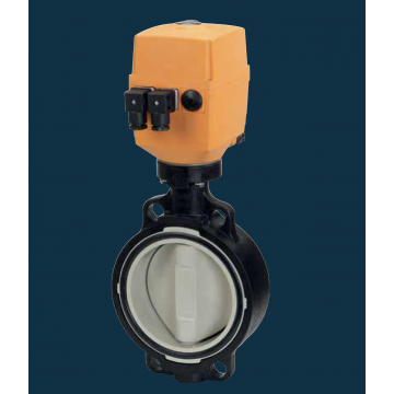 Type 145 Electrically Actuated Wafer Butterfly Valve