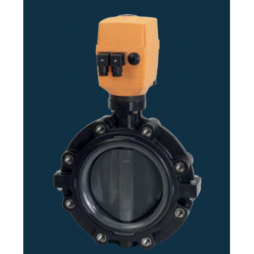 Type 147 Electrically Actuated Lug Butterfly Valve