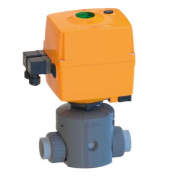 e-DIASTAR Type 514-517 Electric Actuator with Diaphragm Valve